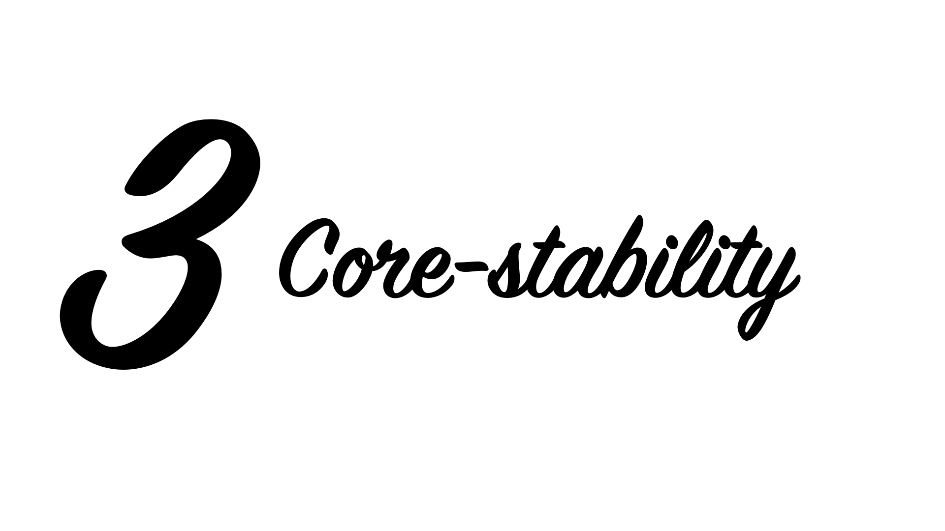 Core-stability Golf Stabiliteit Training Fitness Mol